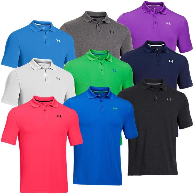 2014 Under Armour Golf UA Performance Mens Polo Shirt. 2014 UA Collection. # UnderArmour