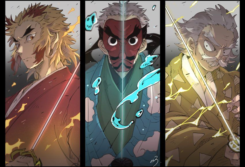Mix two of your favorite demon slayer … のしろ on Twitter | Anime demon, Slayer anime, Dragon slayer