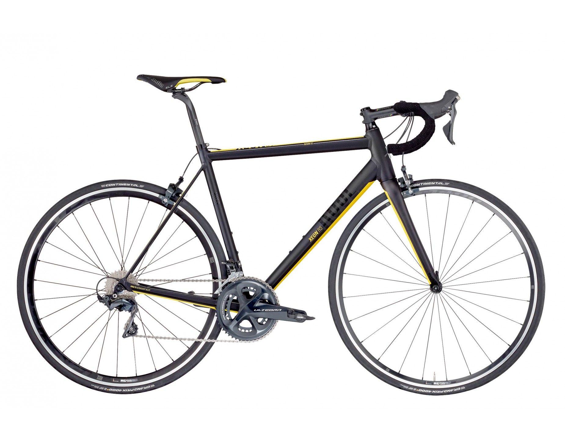 ROSE XEON RS Ultegra anodized black/yellow
