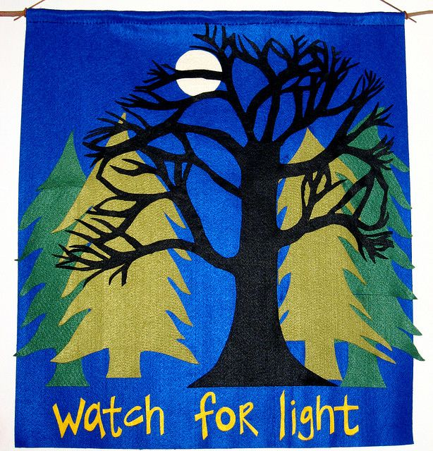 Advent banner by mpeterson, via Flickr