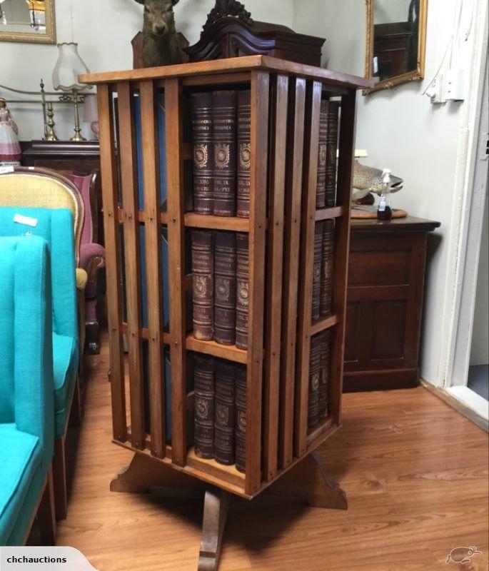 Rimu 1920 S Revolving Bookcase Trade Me Revolving Bookcase