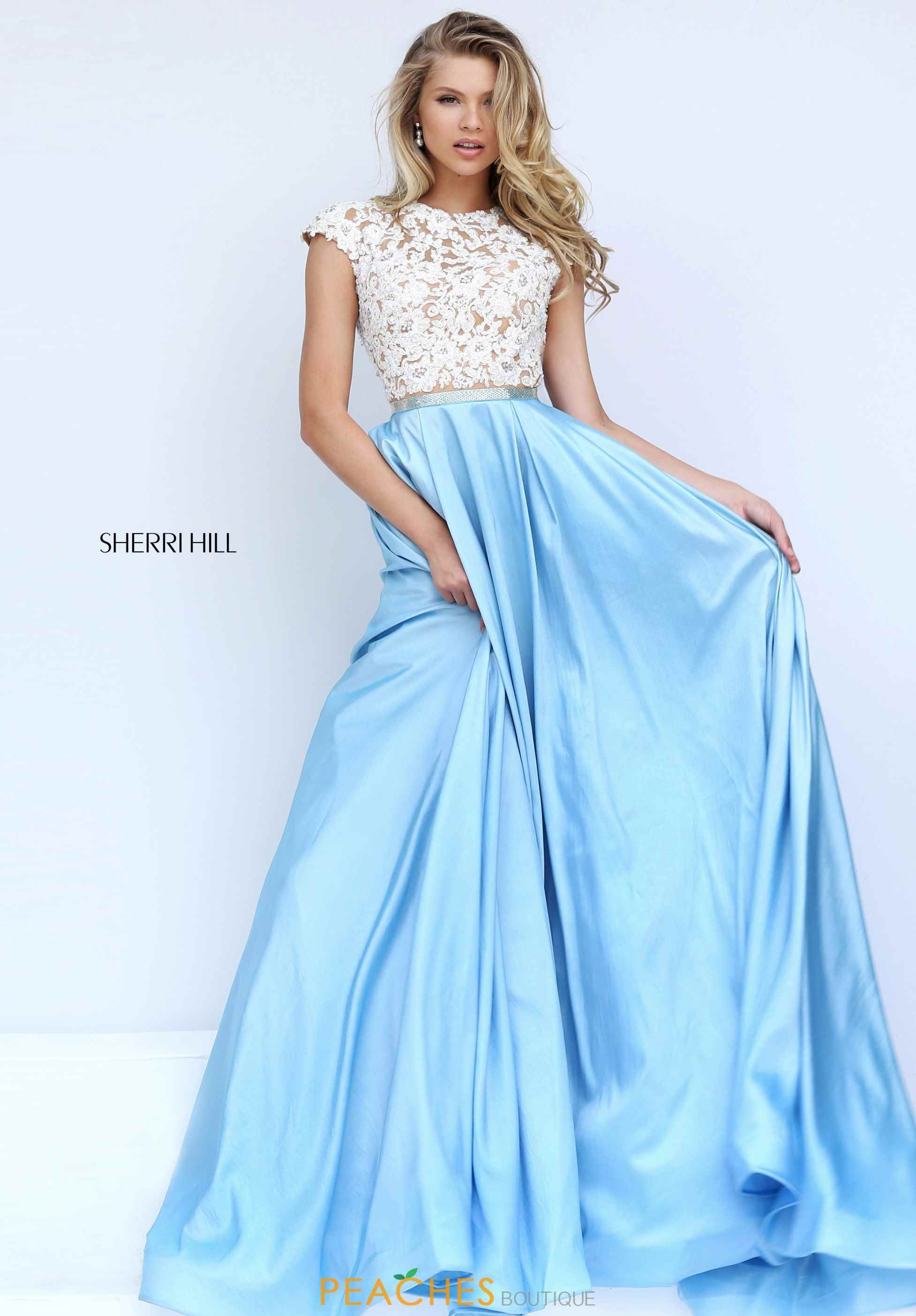 Sherri hill beaded long dress womenus fashion pinterest