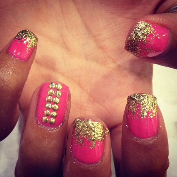Pin by Stefanie San Juan on NAiLS* iDEAS. | Pinterest | Stud nails ...