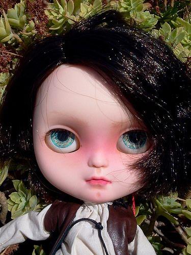 Arya estrena ojazos de Puppelina ツ :-D