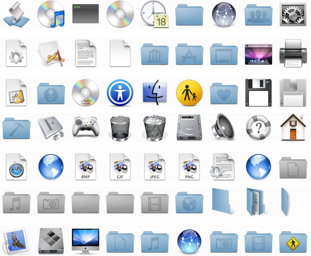 Icons For Mac High resolution wallpapers, Photo wall