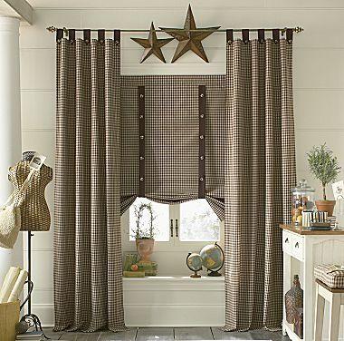 country style curtains Country style curtains, Master