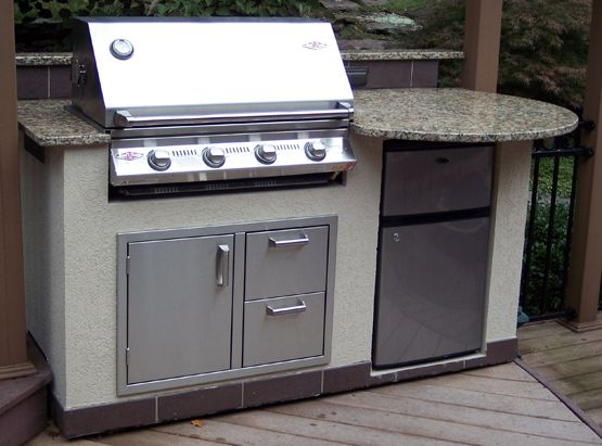 Newage Products 56x1 25x24 In Outdoor Kitchen Stainless Steel Countertop For Stainless Steel Classic Or Aluminum Slate Cabinets 65801 The Home Depot Outdoor Kitchen Outdoor Kitchen Appliances Outdoor Kitchen Cabinets