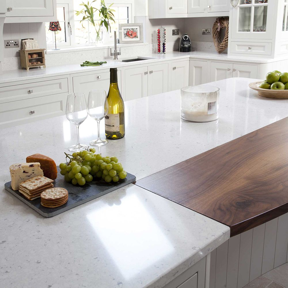 Happy Hour Is Served On This Silestone Bianco Rivers