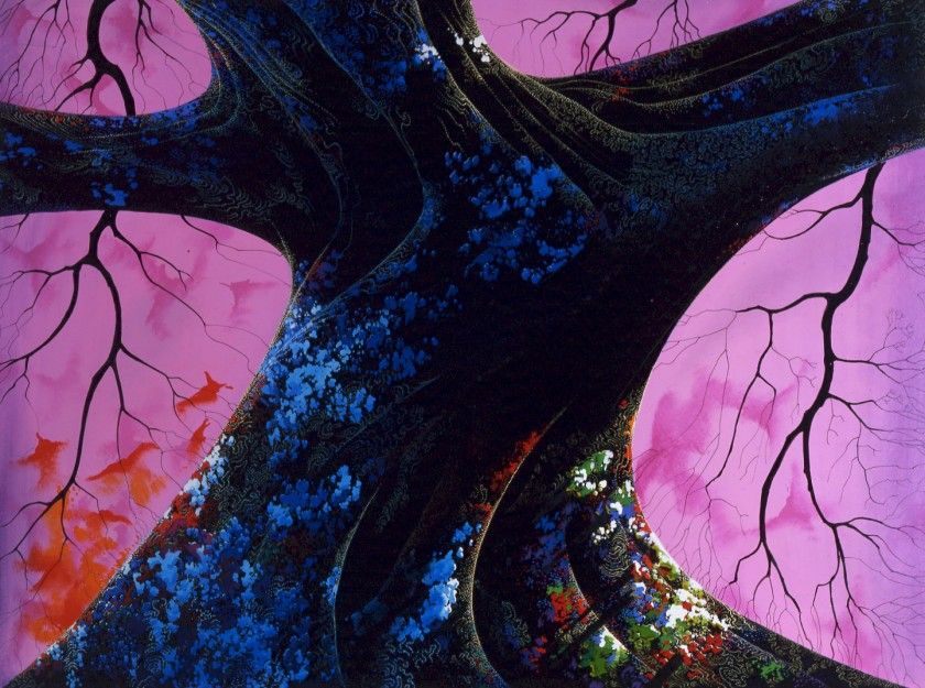 Eyvind Earle Master of the trees — DOP