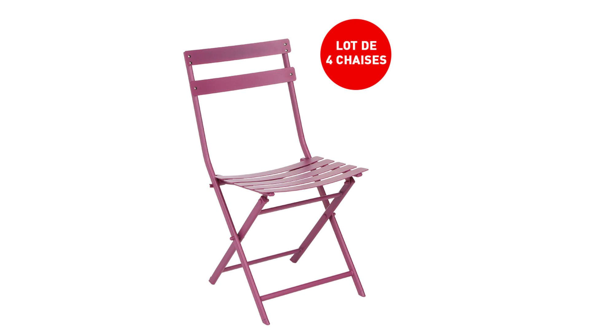 Lot De 5 Chaises Conforama