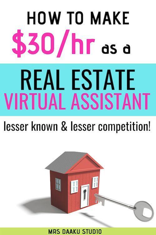 So werden Sie 2019 ein virtueller Assistent für Immobilien   – Online Jobs From Home