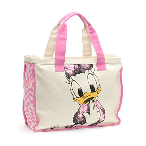 Daisy Duck Tote from the Disney Store | daisy | Pinterest | Disney ...