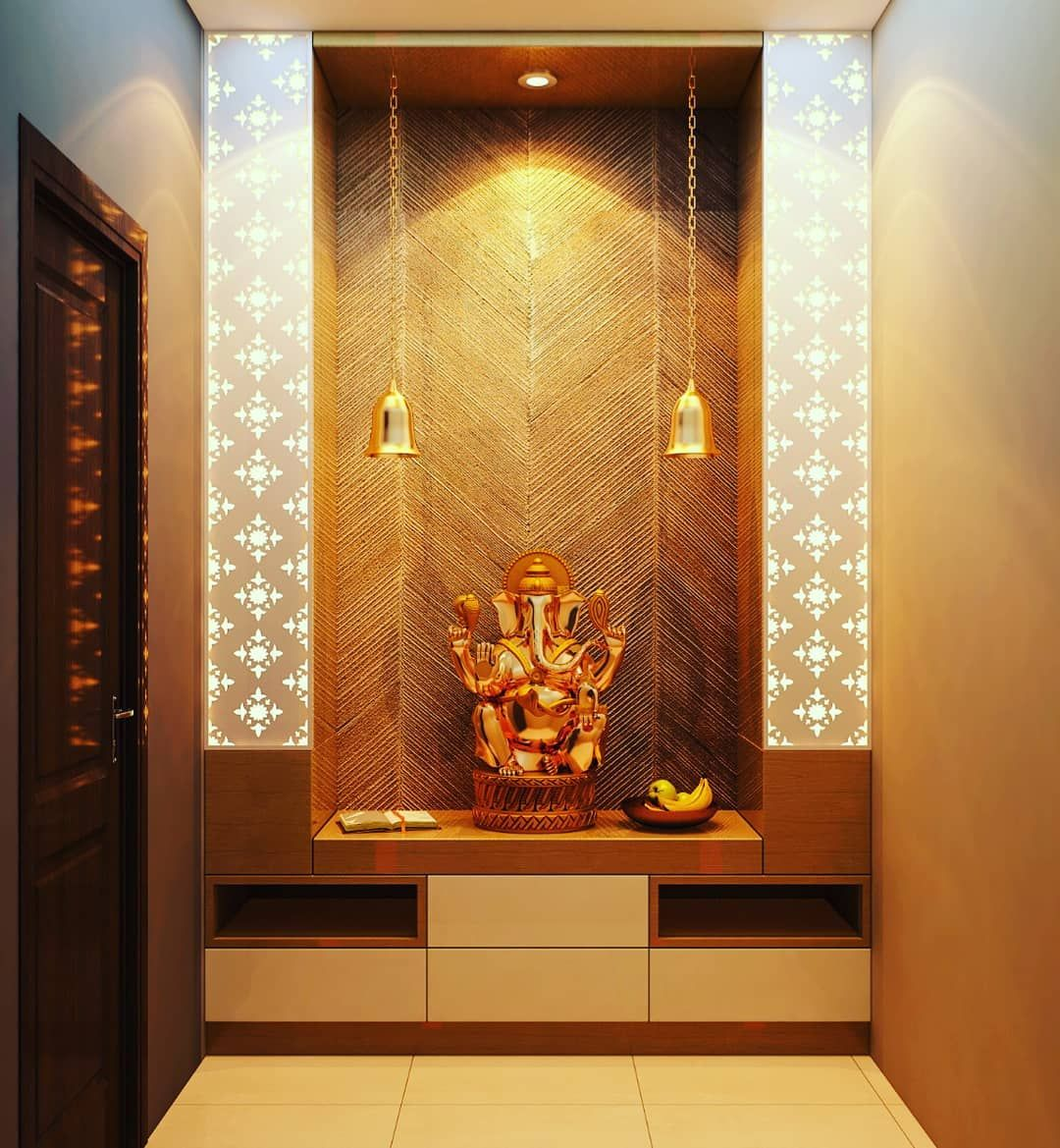 Home Interior Entrance Design Ideas:  Interior Design Bangalore #homeinterior #pujaroom