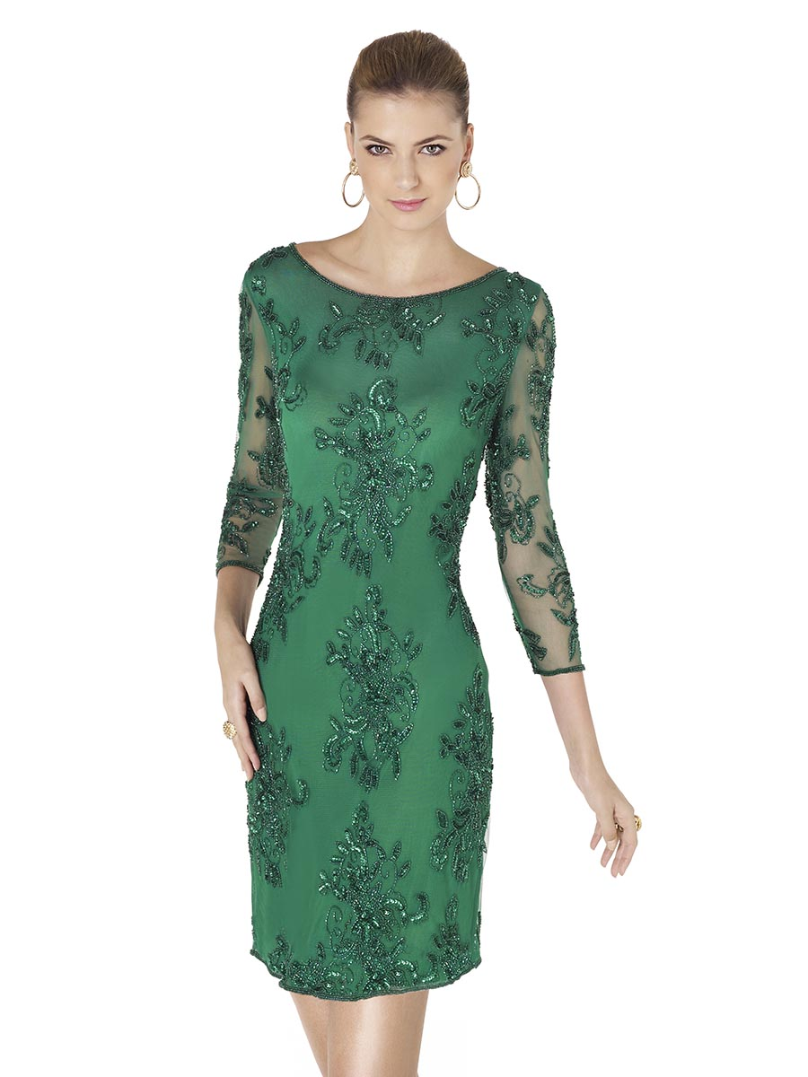 Pronovias Amaia Green Cocktail Dress. Mother of bride outfit 2015 ...