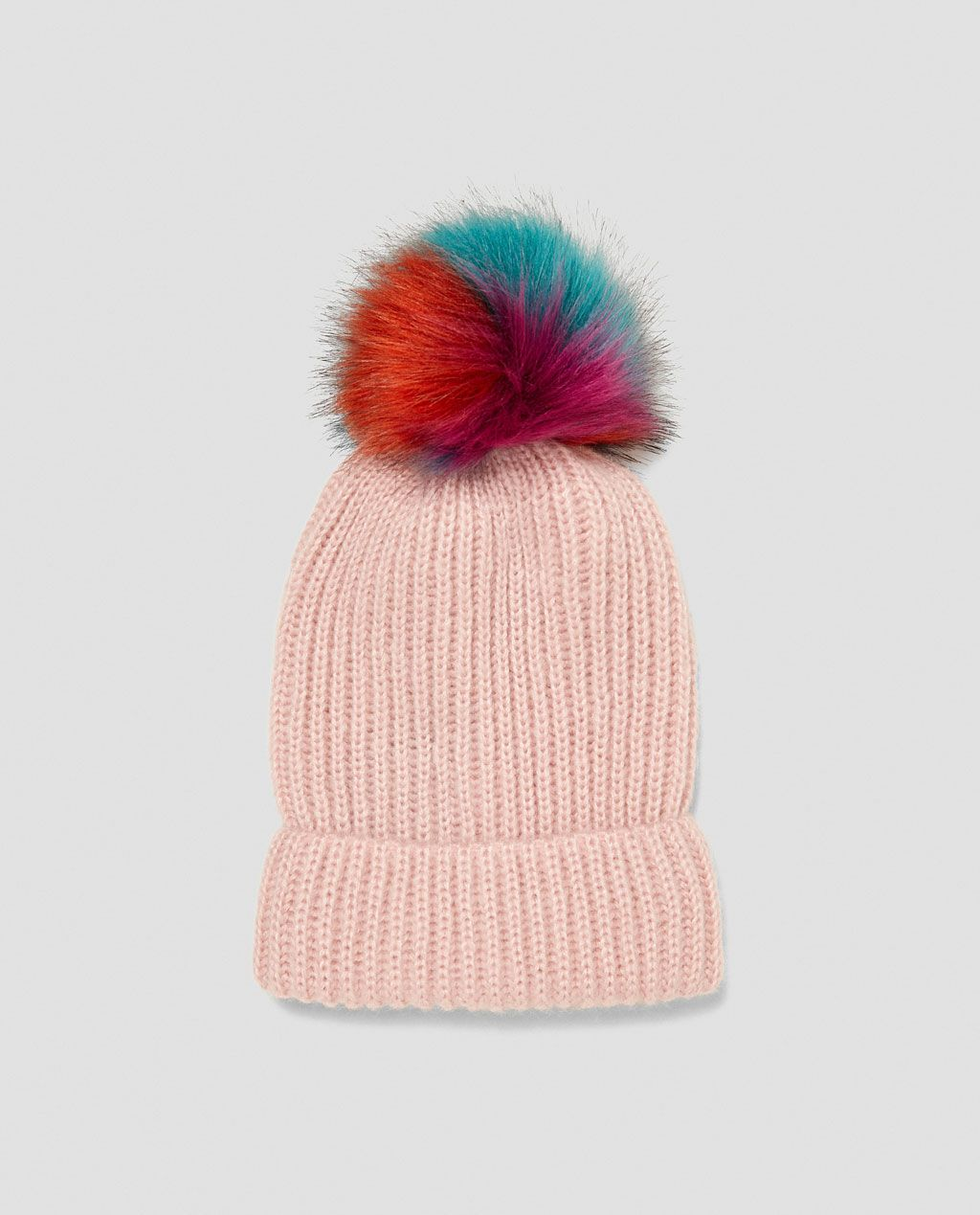 366708b1c5a POMPOM BEANIE-View all-ACCESSORIES-WOMAN