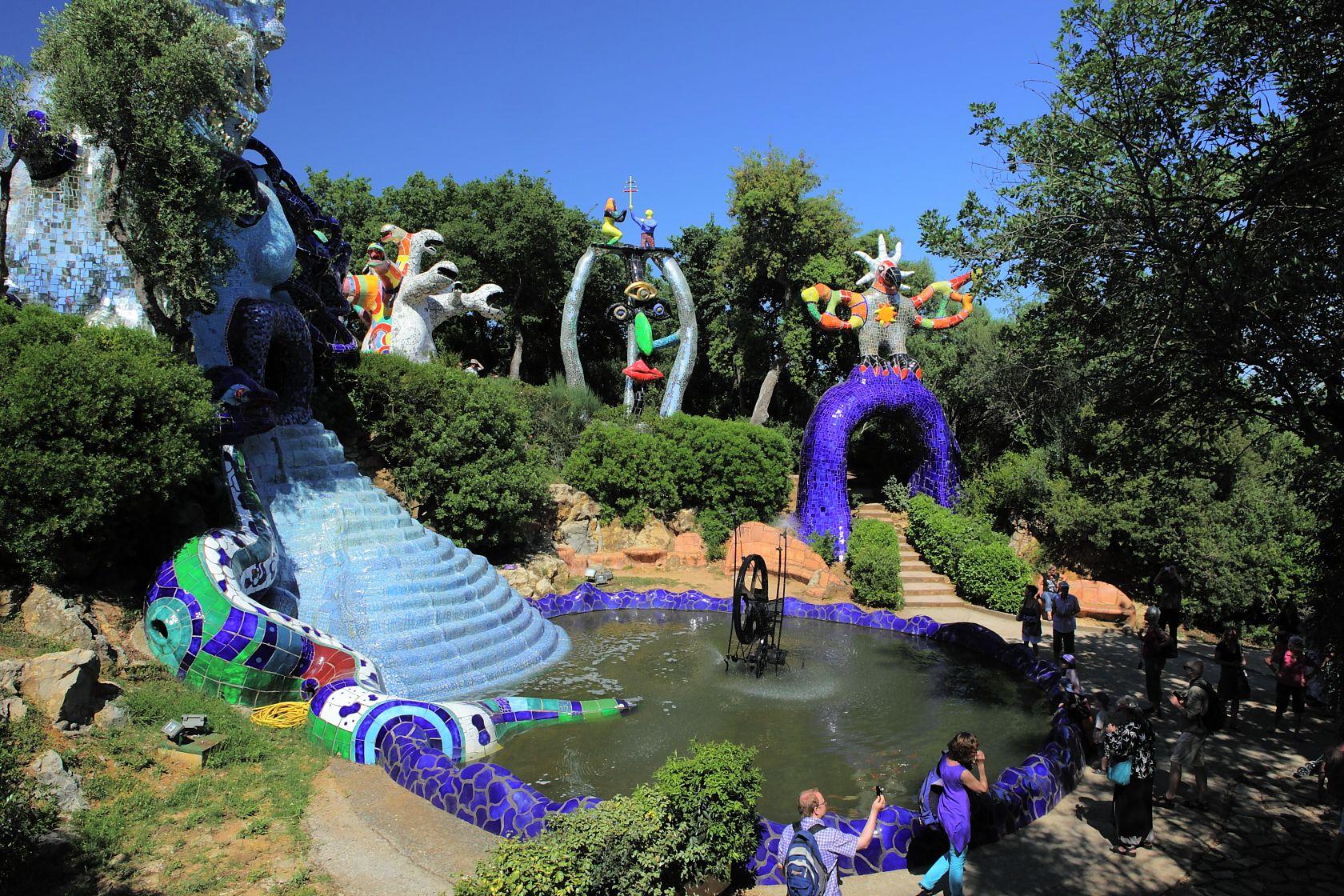 Azienda Agricola Orlando Tarot Garden In Capalbio Artistico