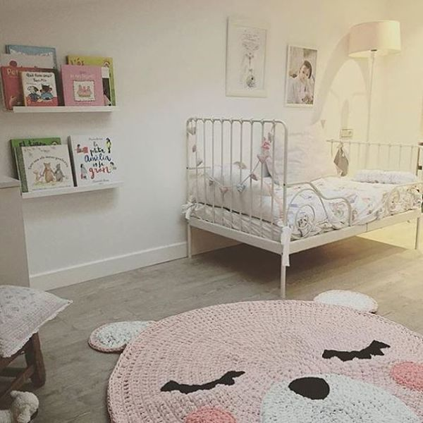 Ideas para decorar con ganchillo o crochet baby kids - Alfombras habitacion bebe ...