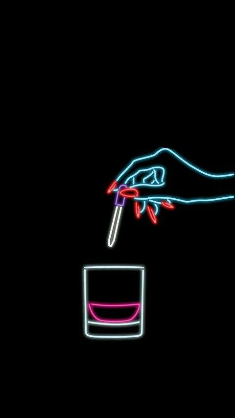 Pin by kim🥶💙 on wallpaper ❤️ | Neon lighting, Neon noir
