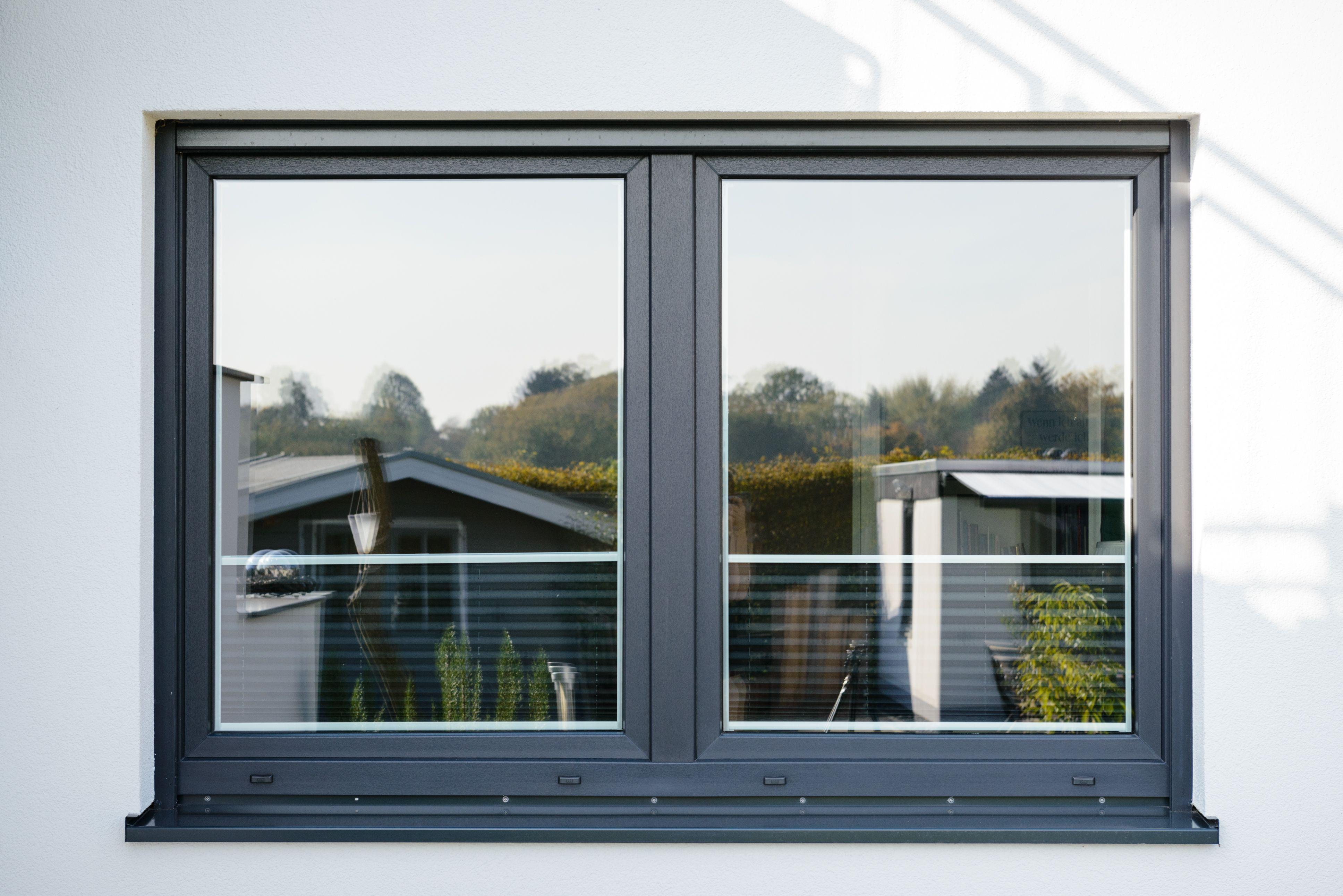 Kunststofffenster Auf Mass Neubau Architektur Garten Fenster