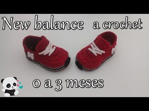 98d59868695855 hola!!!!!! aprende a tejer estos lindos converse a crochet