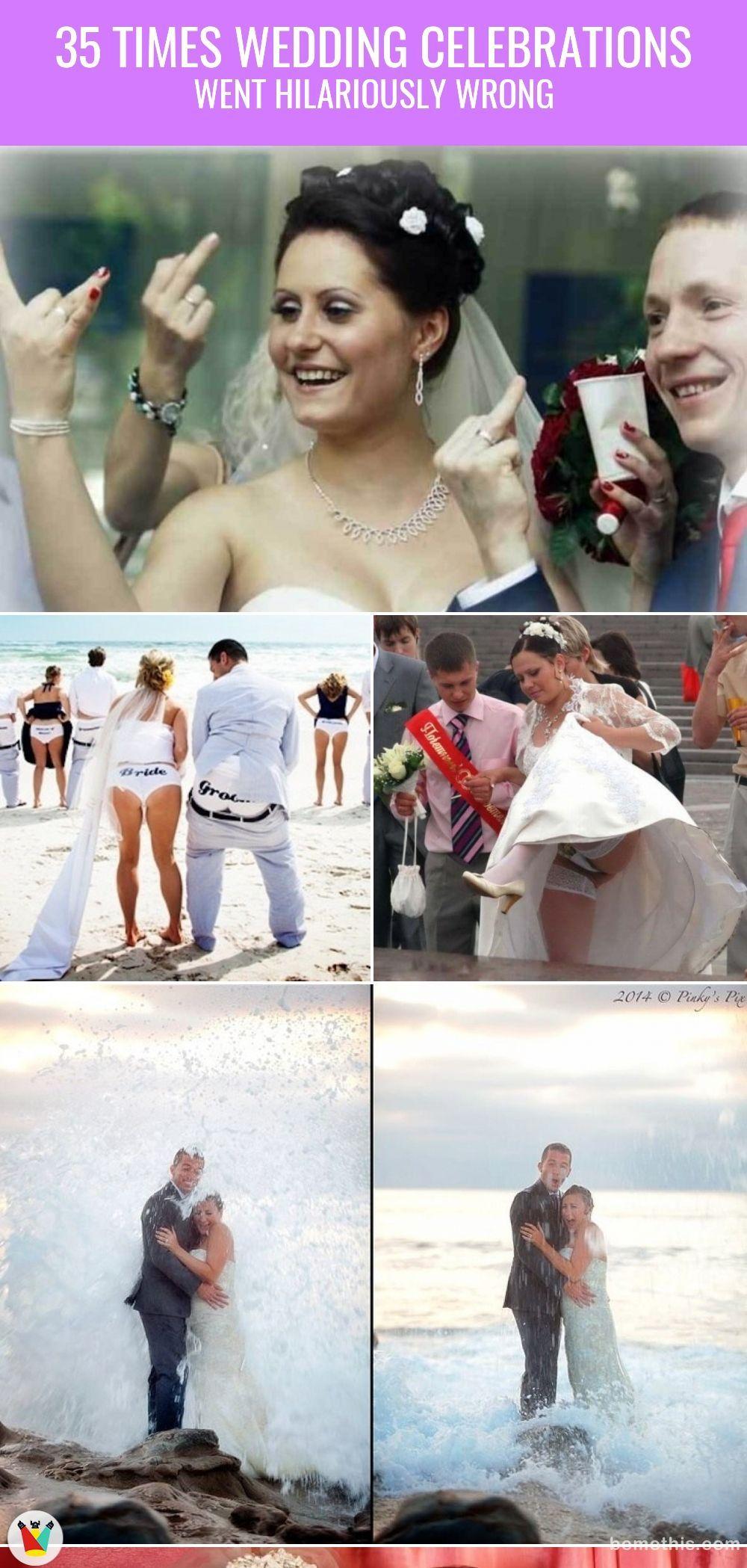 35 Times Wedding Celebrations Went Hilariously Wrong
