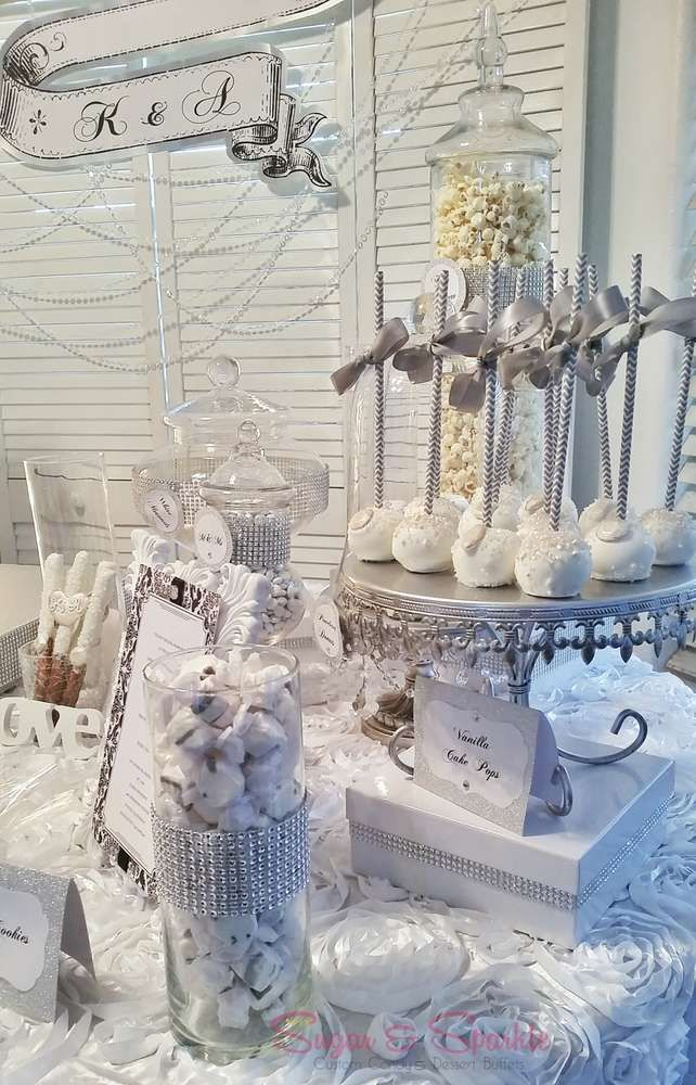 Glam Engagement Party Ideas | Photo 4 of 24 | Catch My Party
