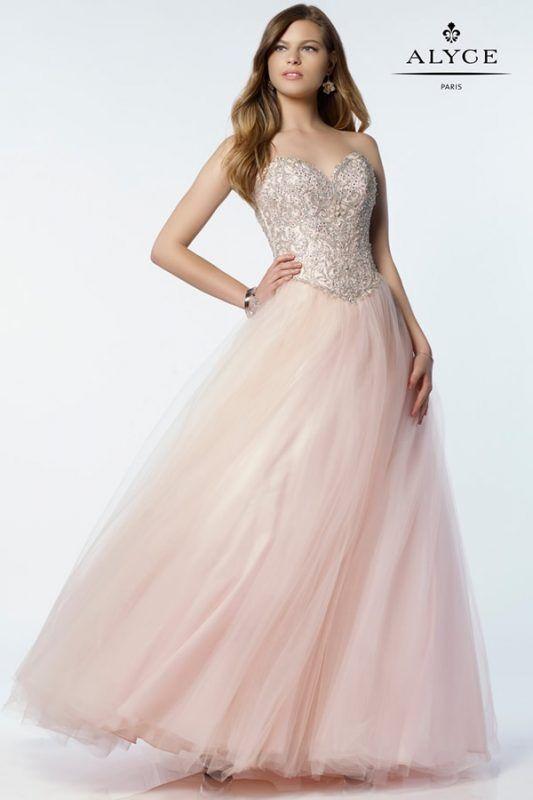57ef02835 Vestidos de quinceañera modernos 2017 Alyce Paris