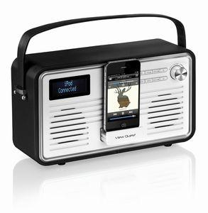 View Quest Retro Radio DAB+ WIFI Black & Cream
