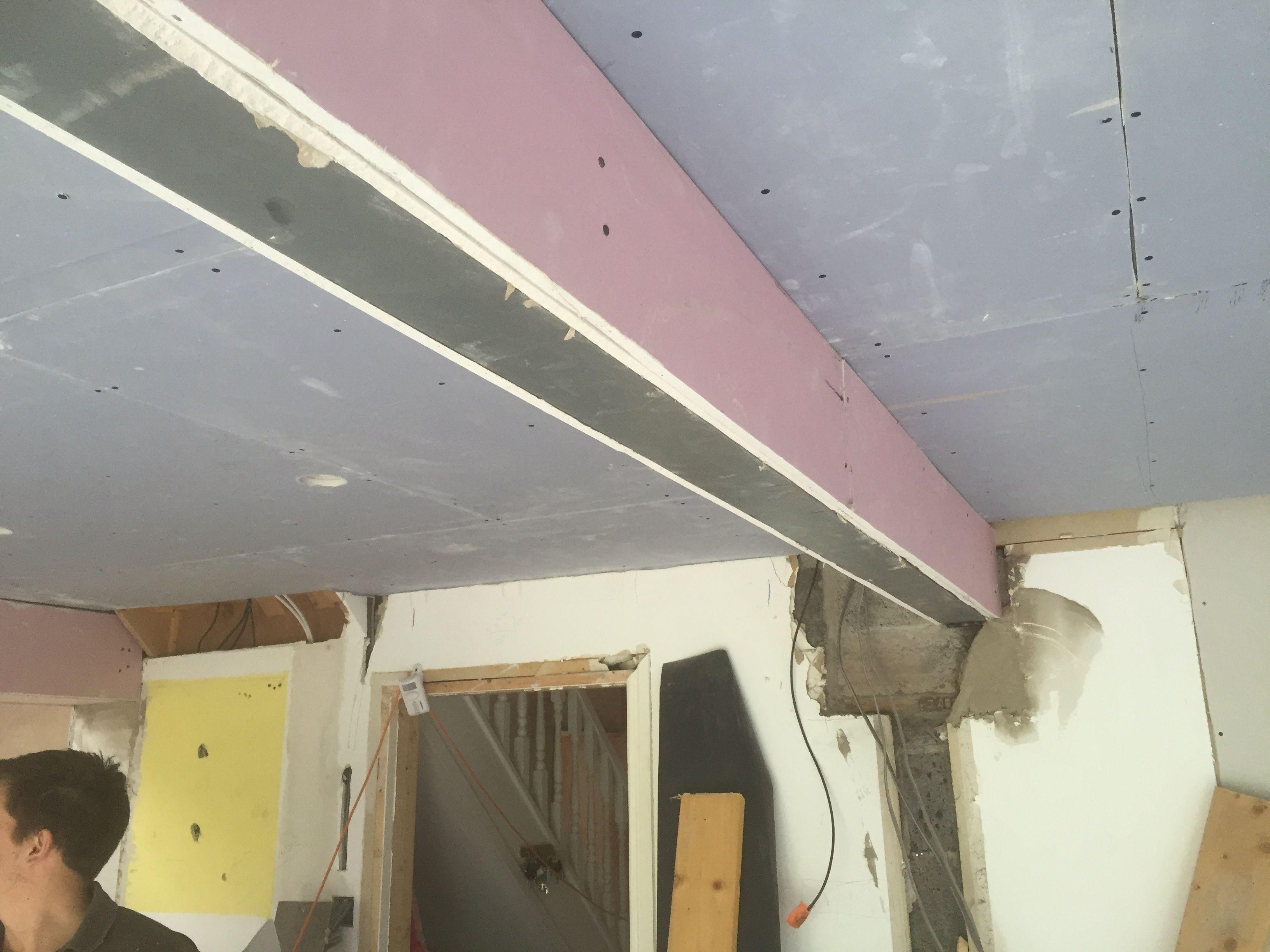 Image Result For Plasterboard Covered Beams Beams Steel Beams Steel Columns