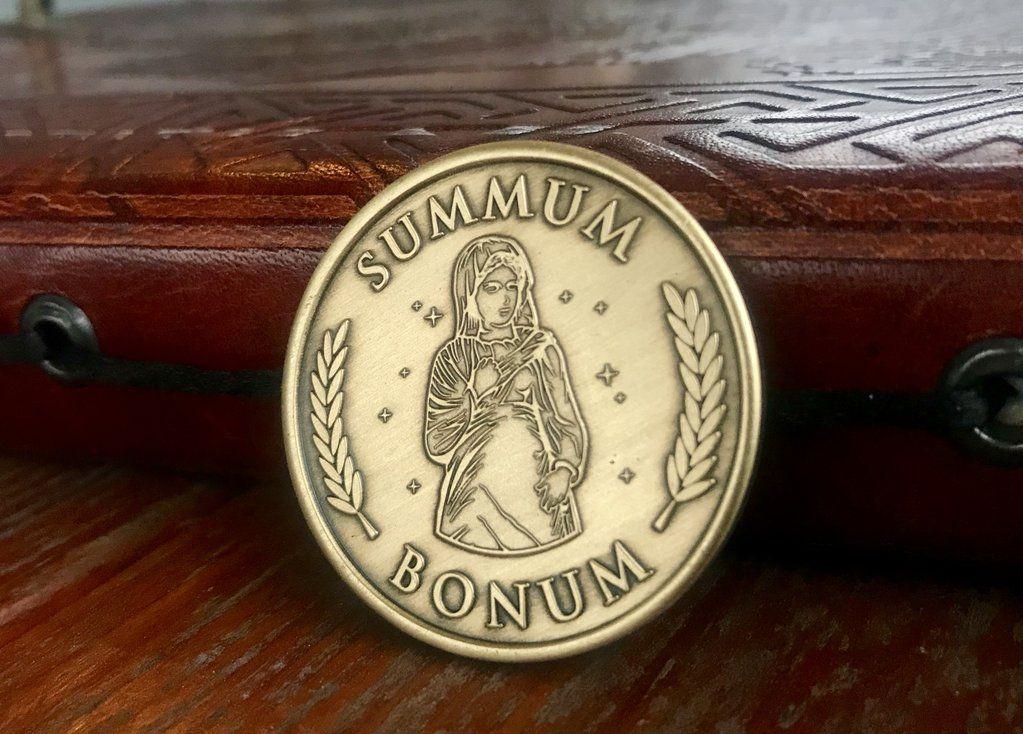 Summum Bonum Medallion Stoic The Stoics The Orator