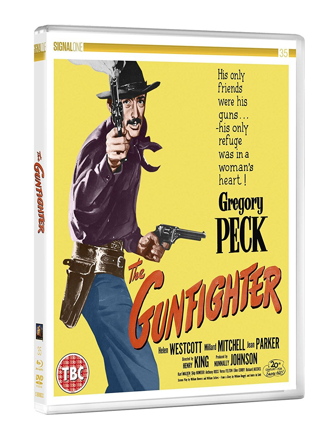 The Gunfighter - Blu-Ray (Signal One Entertainment Region B