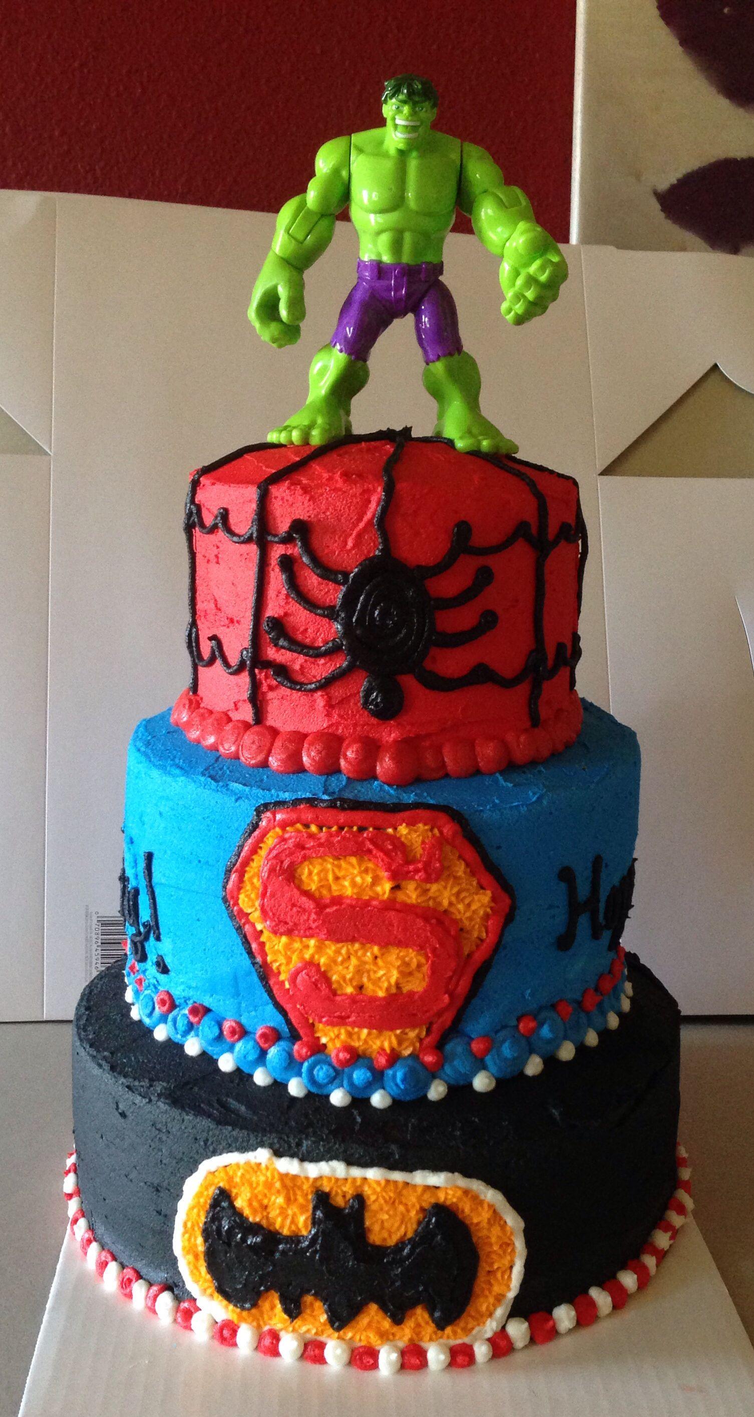 Miraculous My Buttercream Superhero Cake With Images Superhero Birthday Personalised Birthday Cards Xaembasilily Jamesorg