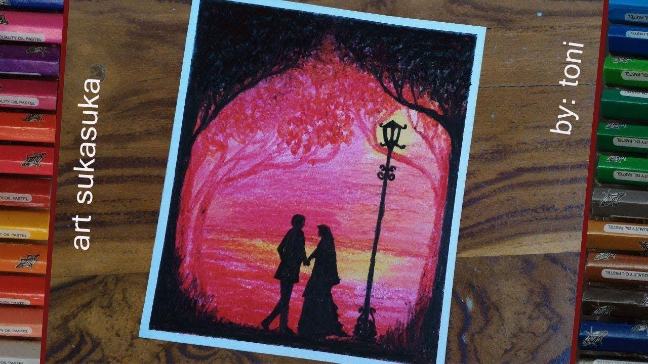 Romantis 2 Cara Menggambar Pemandangan Malam Menggunakan