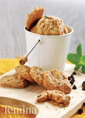 Almond Butter Cookies Kue Kering Mentega Resep Biskuit Kue Kering