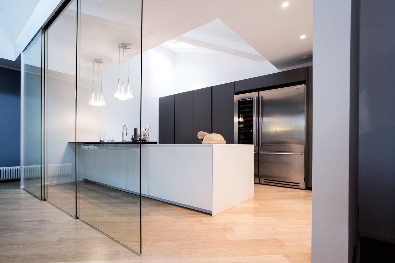 Il Vetro In Cucina Henry Glass Porte Scorrevoli Per Cucina Design Della Cucina Arredo Interni Cucina