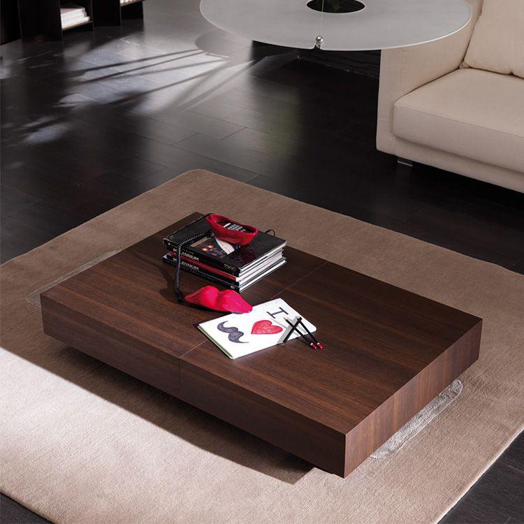Expandable Coffee Table Cristallo Resource Furniture Mesa