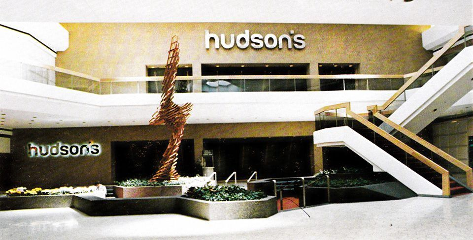 Hudsons department store fairlane town center from 1976