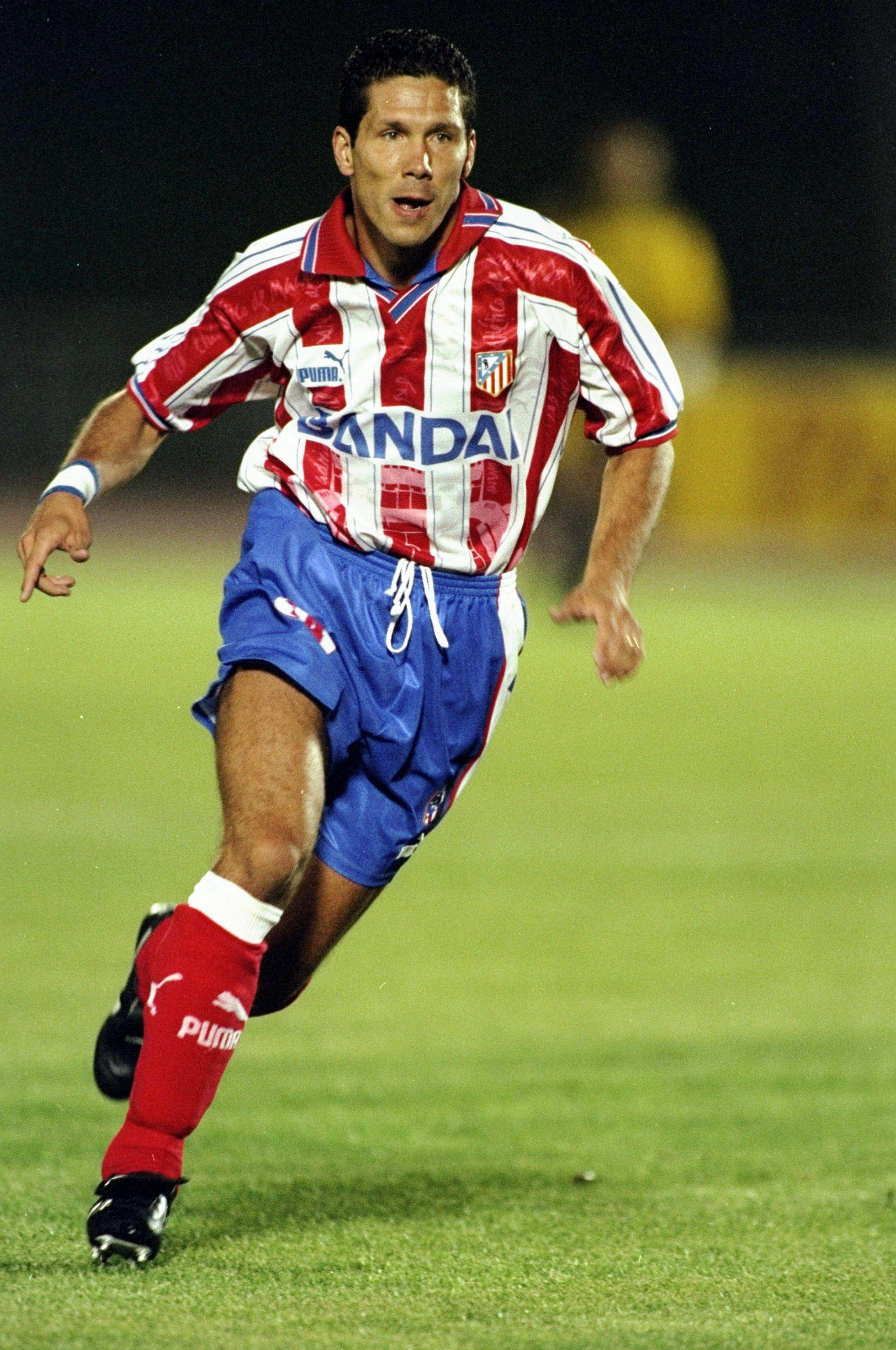 Diego Simeone, Atlético de Madrid. Futbol atletico de