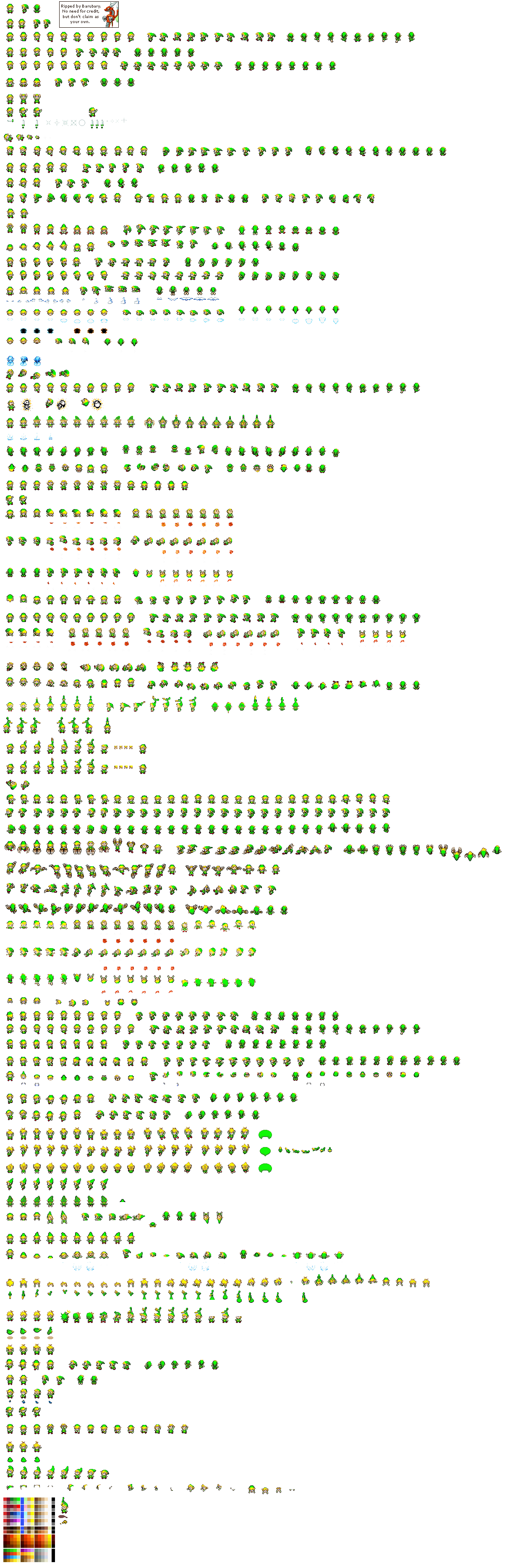 Legend of Zelda: The Minish Cap - Link (with cap)