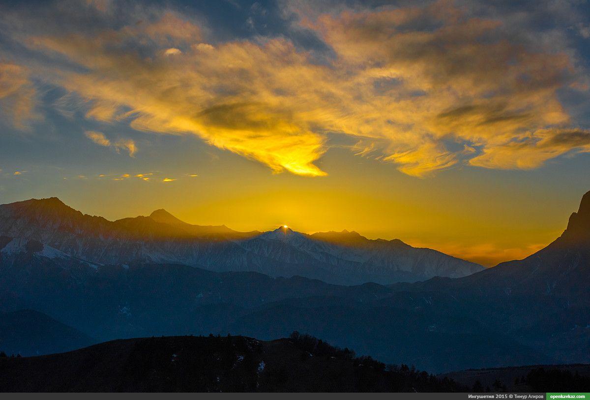 Зимняя горная Ингушетия (часть 2-я)   Landscape, Natural ...