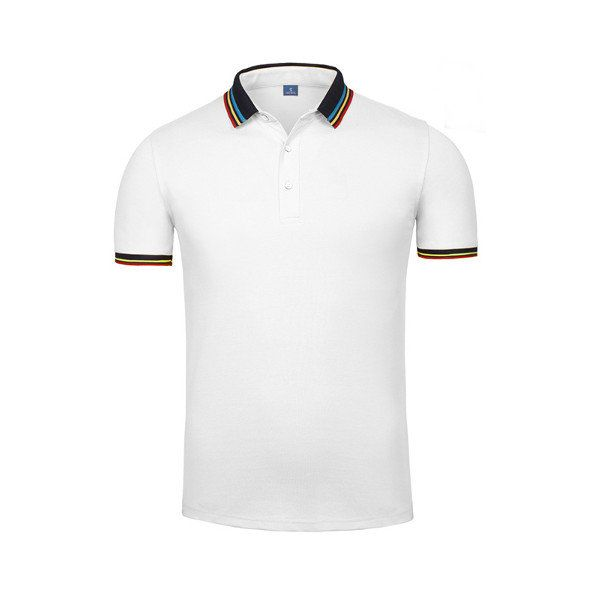 2e974575450 Mens Casual Business Solid Color Soft Knitted Polo Shirt Short Sleeve T-shirt  Sales on
