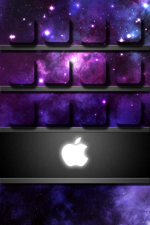 Apple Logo Shelf Iphone 4s Wallpapers Apple Wallpaper Iphone