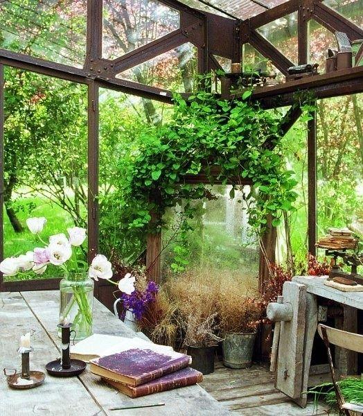 Invernaderos rusticos para jardin buscar con google proyectos que intentar pinterest - Invernaderos para casa ...