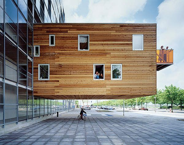 Wozoco mvrdv pinteres for Modern urban house plans