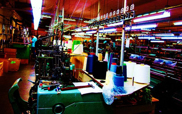 Johnstons Textile Mill, Hawick