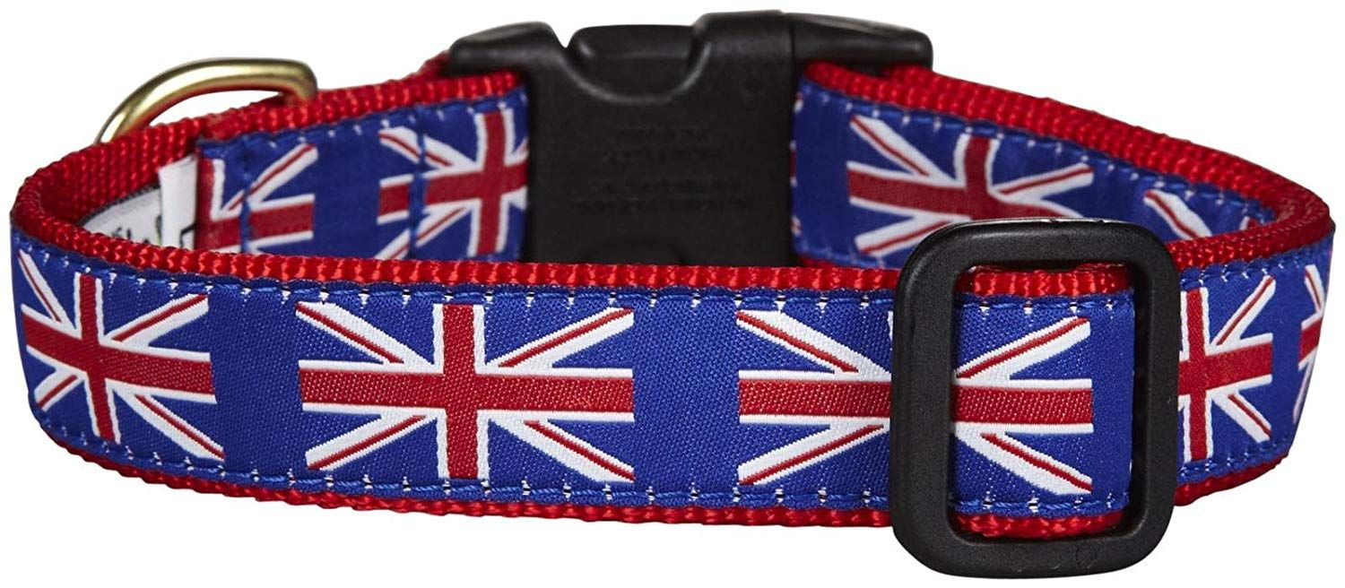 Up Country Union Jack Dog Collar X Large Many Thanks For