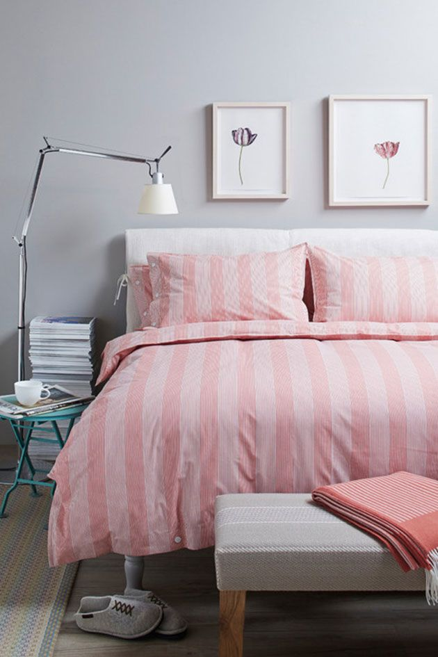 Los 10 colores que mejor combinan con el gris en for Decoracion habitacion nina gris y rosa