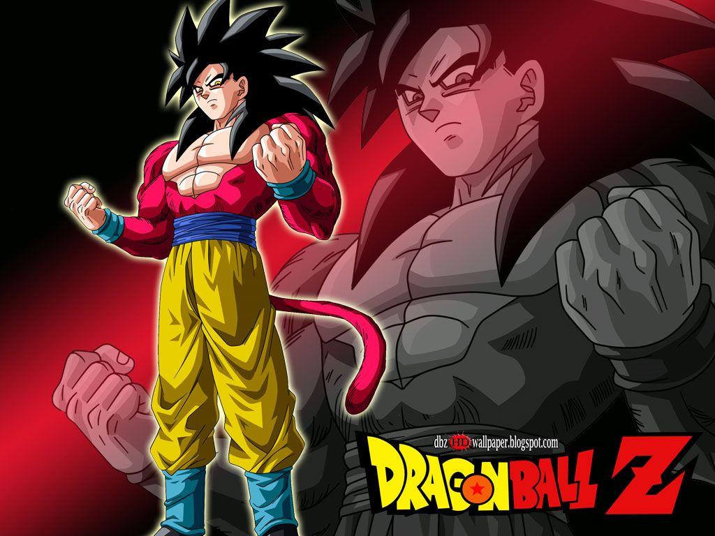 Goku Super Saiyan 4 Wallpaper Wallpapersafari Imagenes De