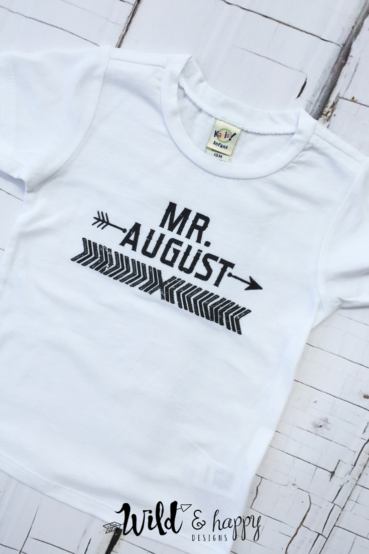 Boys August Birthday Shirts Are Now In The Shop And Ready To Ship Available