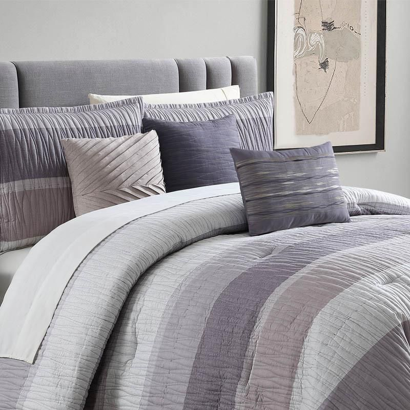 York Is A Smart Casual Look Horizontal Stripes In Shades Of Light